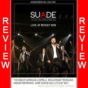 REVIEW: SUADE – VocalTronics Live DVD
