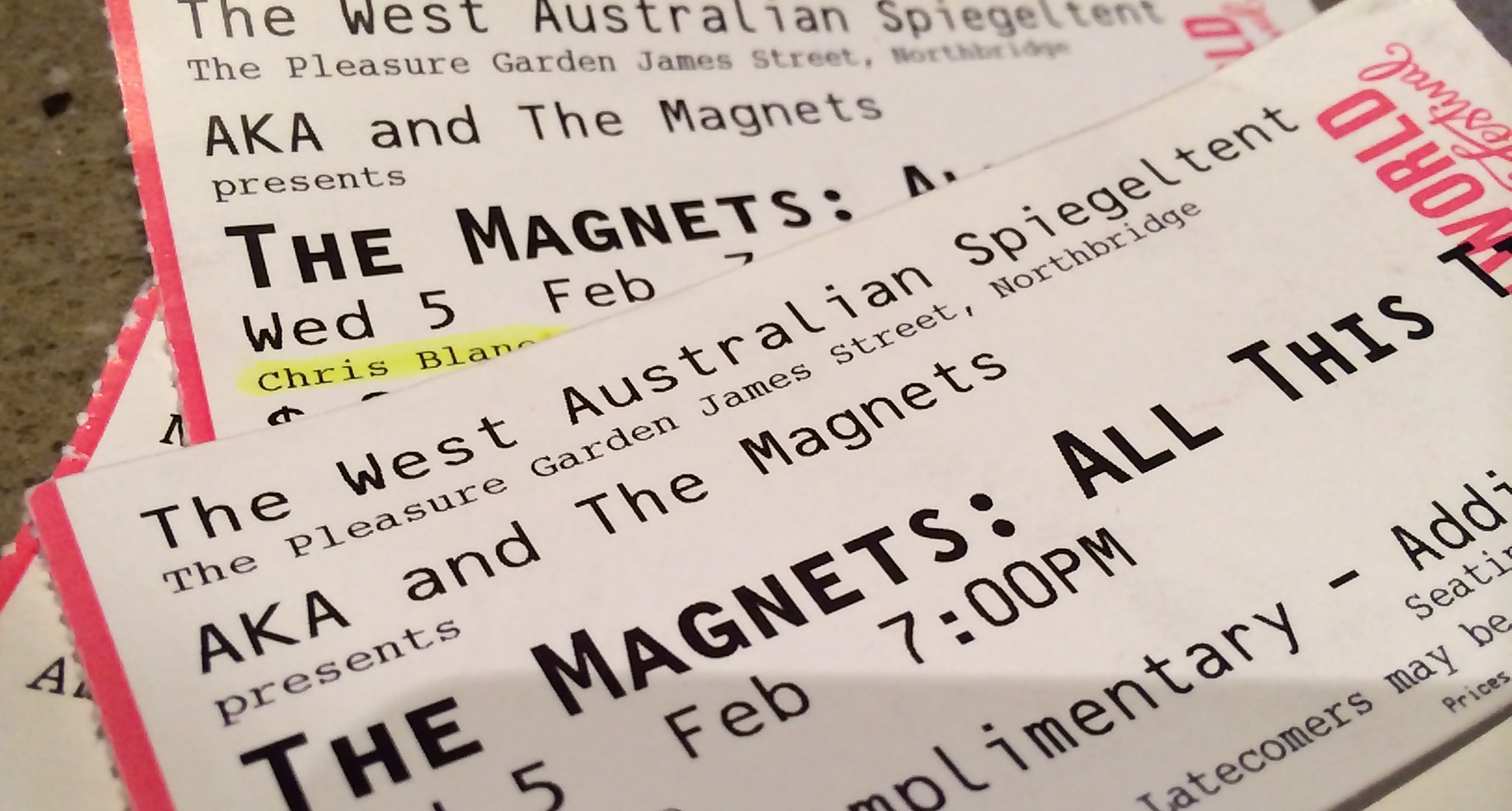REVIEW: The Magnets – Perth Fringe World