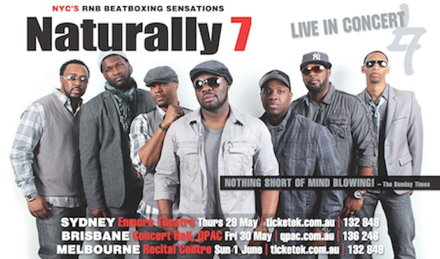 Naturally 7 2014 Australia Tour image