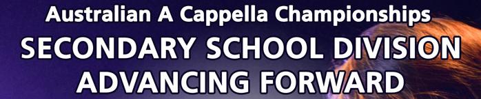 AUSACA 2015 School Groups Advancing Forward