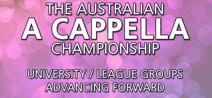 AUSACA 2016 Uni/League Groups Advancing Forward