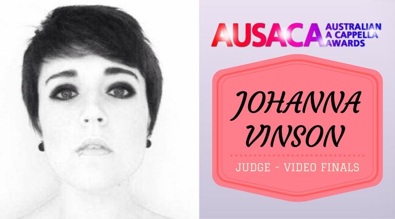 AUSACA Video Judge – Johanna Vinson