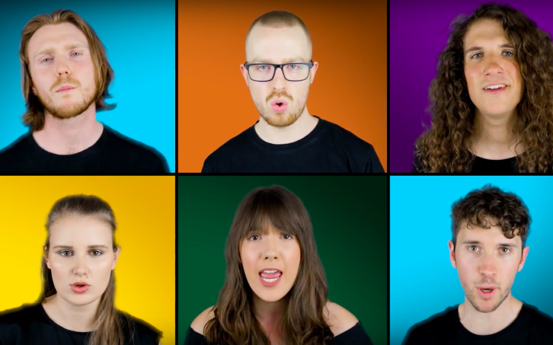New Video from A Cappella Video Champions Drums of War