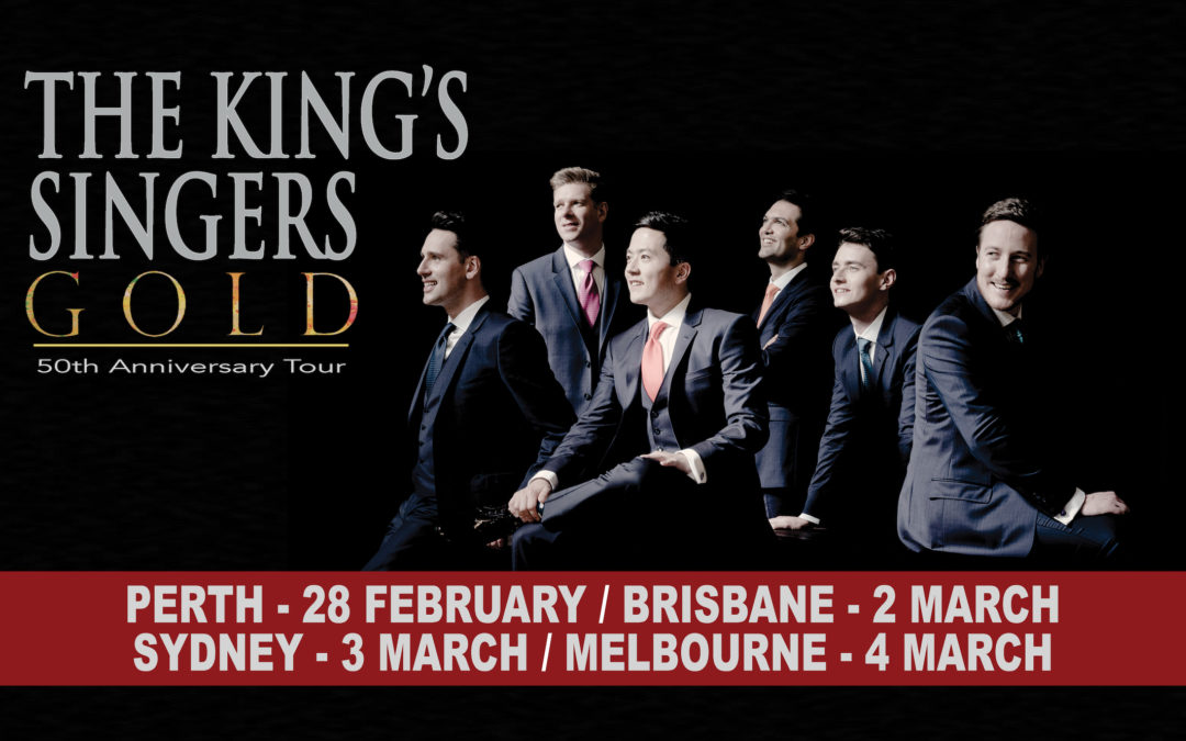The King's Singers: Ticket Give-away Competition